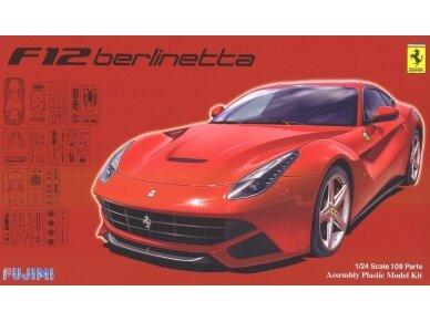 Fujimi - Ferrari F12 Berlinetta DX, 1/24, 12619