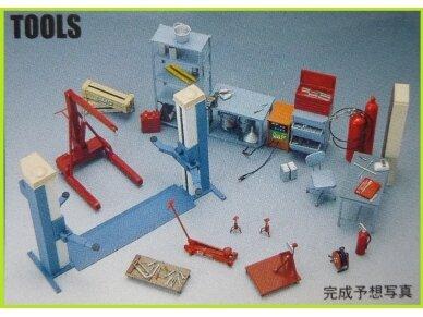 Fujimi - Garage + Tools, Scale: 1/24, 11118 3
