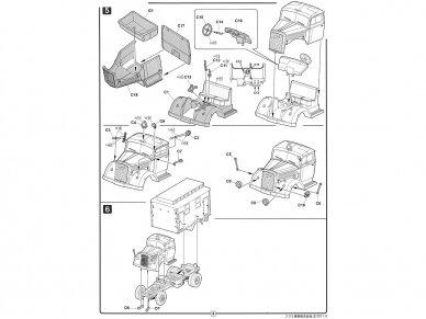 Fujimi - German Military Truck Opel Blitz 3t Ambulance, Mastelis: 1/72, 72231 7