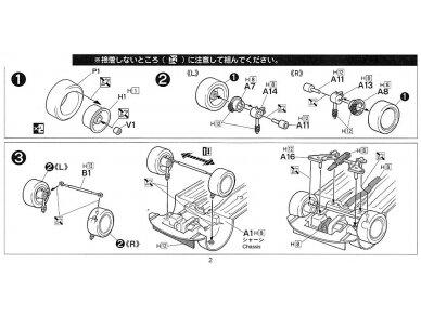 Fujimi - Honda Civic Type R 6gen. Mastelis: 1/24, 03503 6