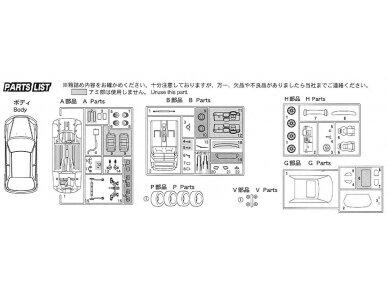 Fujimi - Honda Civic Type R 6gen. Mastelis: 1/24, 03503 9