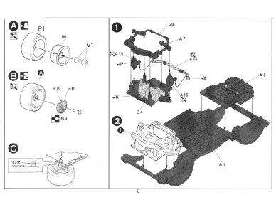Fujimi - Honda CR-X Si, Scale: 1/24, 04592 6