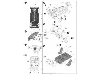 Fujimi - Honda CR-X Si, Scale: 1/24, 04592 7