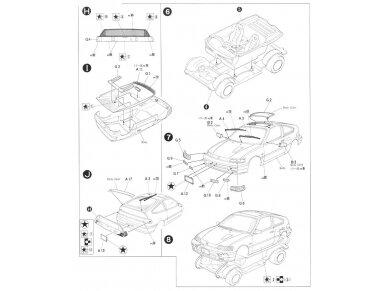 Fujimi - Honda CR-X Si, Scale: 1/24, 04592 8