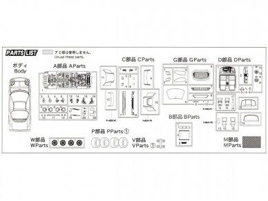 Fujimi - Honda NSX/NSX-R, Mastelis: 1/24, 03960 10