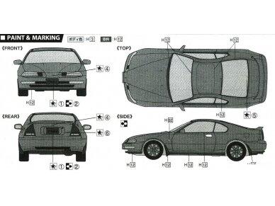 Fujimi - Honda Prelude 2.2Si VTEC, Mastelis: 1/24, 03991 6