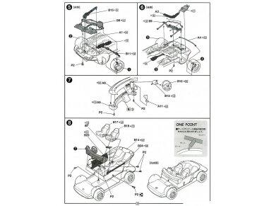 Fujimi - Honda Prelude 2.2Si VTEC, Mastelis: 1/24, 03991 8