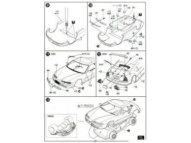 Fujimi - Honda Prelude 2.2Si VTEC, Mastelis: 1/24, 03991 9