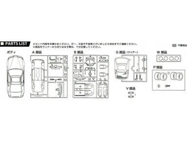 Fujimi - Honda Prelude 2.2Si VTEC, Mastelis: 1/24, 03991 10