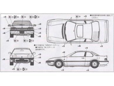 Fujimi - Honda Prelude 4WS, Mastelis: 1/24, 03815 5