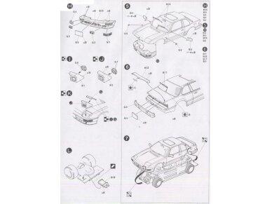 Fujimi - Honda Prelude 4WS, Mastelis: 1/24, 03815 8