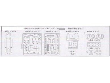 Fujimi - Honda Prelude 4WS, Mastelis: 1/24, 03815 9