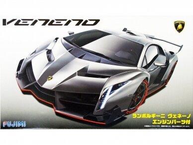 Fujimi - Lamborghini Veneno with Engine, 1/24, 12592
