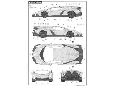 Fujimi - Lamborghini Veneno, Scale: 1/24, 12583 12