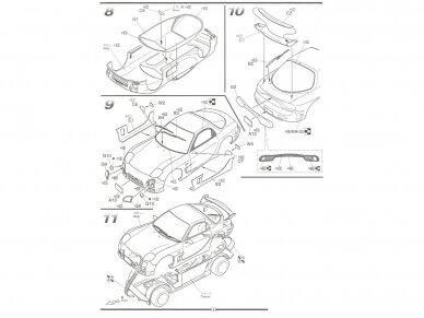Fujimi - Mazda RX-7 (FD3S) A-Spec, Scale: 1/24, 03465 9