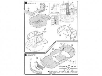 Fujimi - Mercedes Benz SLS AMG GT3, Mastelis: 1/24, 12569 11