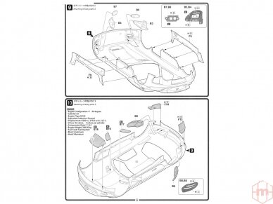 Fujimi - Mercedes Benz SLS AMG GT3, Mastelis: 1/24, 12569 12