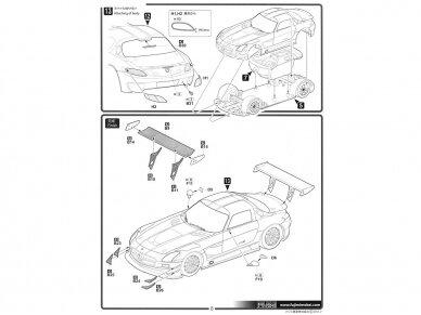 Fujimi - Mercedes Benz SLS AMG GT3, Mastelis: 1/24, 12569 14