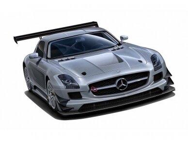 Fujimi - Mercedes Benz SLS AMG GT3, Mastelis: 1/24, 12569 2
