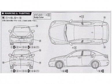 Fujimi - Lexus IS 350, Mastelis: 1/24, 03674 6