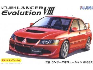 Fujimi - Mitsubishi Lancer Evolution VIII GSR, Mastelis: 1/24, 03924
