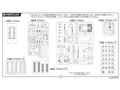 Fujimi - Pz.Kpfw.VI Tiger I Early Version, Mastelis: 1/72, 72234 14