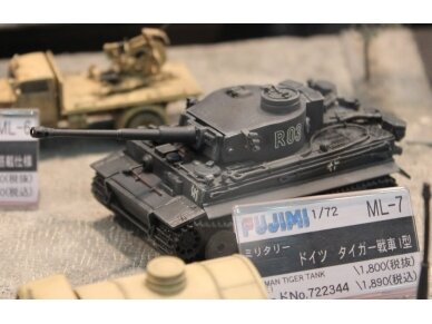 Fujimi - Pz.Kpfw.VI Tiger I Early Version, Mastelis: 1/72, 72234 4