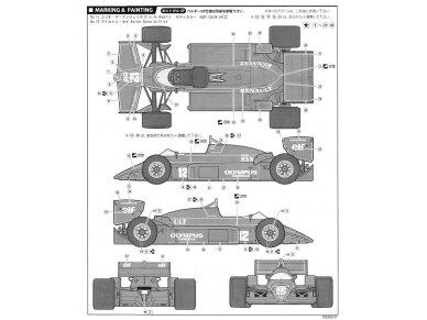 Fujimi - Team Lotus 97T Renault 1985, Scale: 1/20, 09195 10