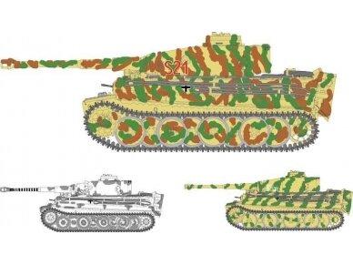 Fujimi - Tiger I Early Version Michael Wittmann, Mastelis: 1/72, 72269 2