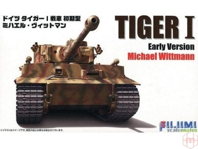 Fujimi - Tiger I Early Version Michael Wittmann, Scale: 1/72, 72269