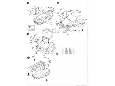 Fujimi - TOHGE-11 Honda Civic Type R 6gen. Mastelis: 1/24, 04601 9