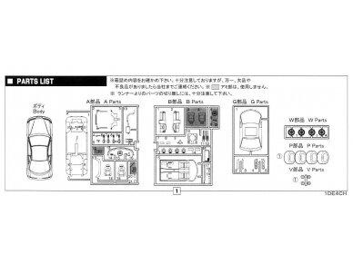 Fujimi - TOHGE-7 Honda Integra Type R '95, Mastelis: 1/24, 04599 9