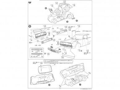 Fujimi - Tohge Nissan Skyline GT-X (GC110), Mastelis: 1/24, 04606 6