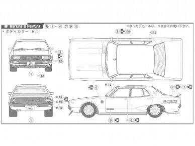 Fujimi - Tohge Nissan Skyline GT-X (GC110), Mastelis: 1/24, 04606 9