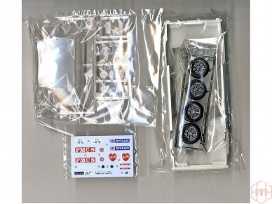 Fujimi - Tohge Nissan Skyline GT-X (GC110), Mastelis: 1/24, 04606 3