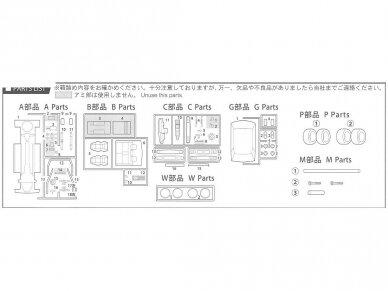 Fujimi - Tohge Nissan Skyline GT-X (GC110), Mastelis: 1/24, 04606 5