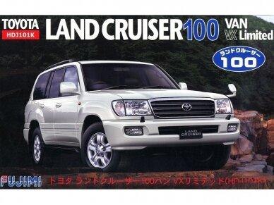 Fujimi - Toyota Land Cruiser 100 Van VX Limited (HDJ101K), 1/24, 03804