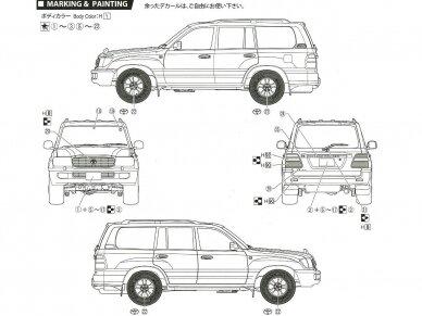 Fujimi - Toyota Land Cruiser 100 Wagon VX Limited, 1/24, 03800 3