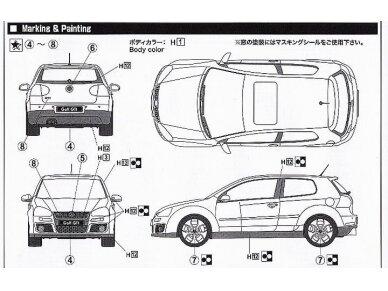 Fujimi - Volkswagen Golf GTI V, Mastelis: 1/24, 12315 5