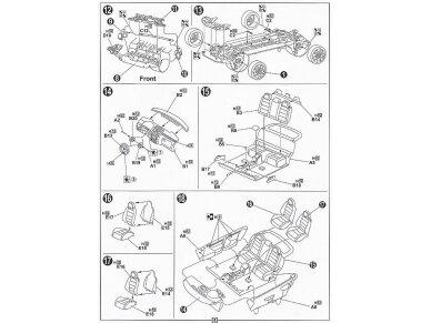 Fujimi - Volkswagen Golf GTI V, Mastelis: 1/24, 12315 7