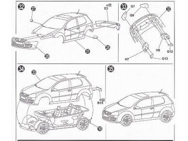 Fujimi - Volkswagen Golf GTI V, Mastelis: 1/24, 12315 9