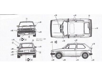 Fujimi - Volkswagen Golf I GTI, Mastelis: 1/24, 12609 5