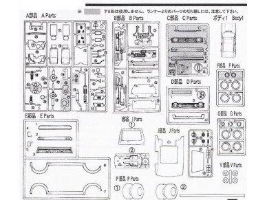 Fujimi - Volkswagen Golf I GTI, Mastelis: 1/24, 12609 9