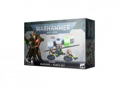 Necrons: Warriors + Paints Set, 60-69