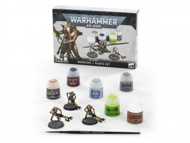 Necrons: Warriors + Paints Set, 60-69 2