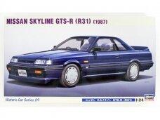 Hasegawa - 1987 Nissan Skyline GTS-R (R31), Mastelis: 1/24, 21129