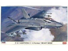 Hasegawa - F-35 Lightning II (A Version) 'Beast Mode', Mastelis: 1/72, 02315