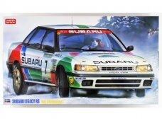 Hasegawa - Subaru Legacy RS 1992 Swedish Rally Limited Edition, Mastelis: 1/24, 20290