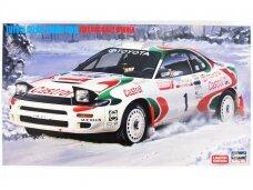 Hasegawa - Toyota Celica Turbo 4WD 1993 RAC Rally Winner, Mastelis: 1/24, 20358