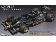 Hasegawa - Lotus F1 1978 German GP With full decals, Scale: 1/20, 23203